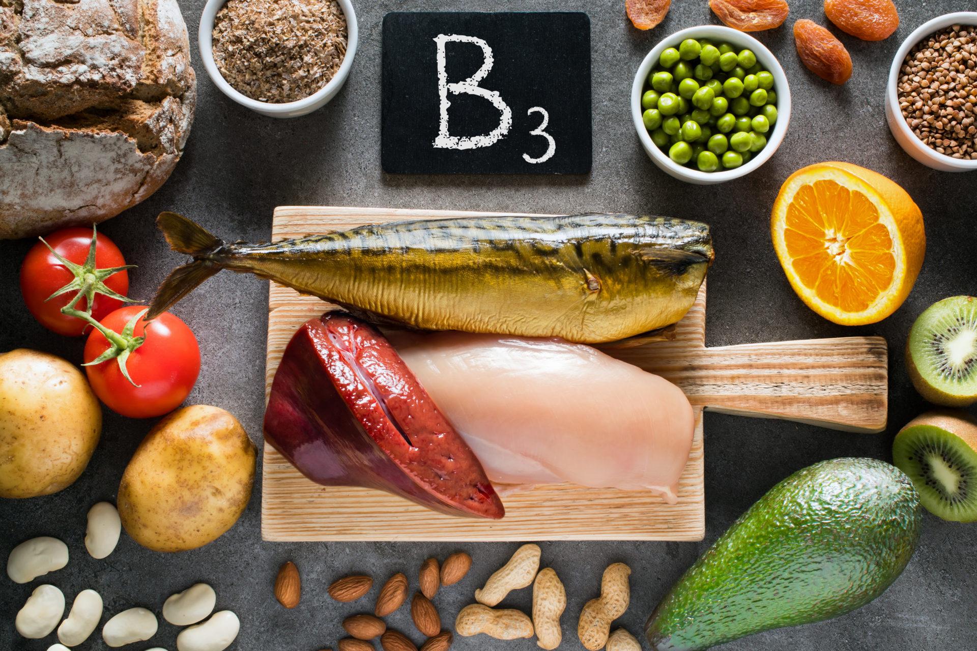 Naturalne źródła witaminy B3
