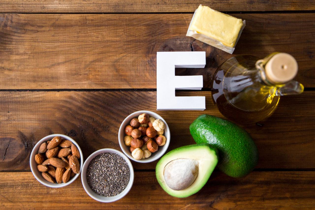 Produkty bogate w witaminę E