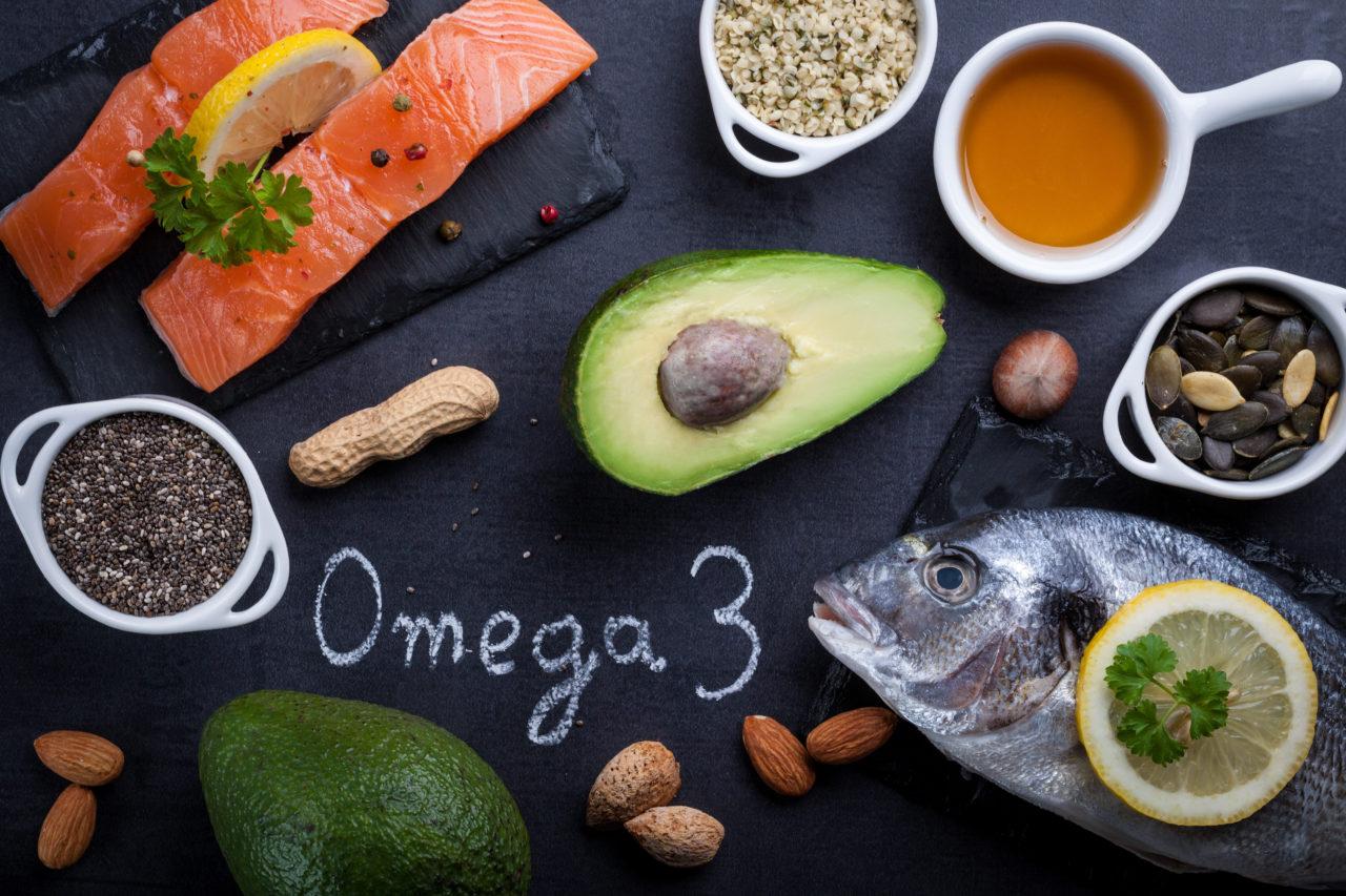 Produkty bogate w kwasy Omega 3